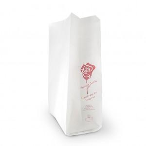"Sacchetti kraft bianco ""Passione Qualità"" conf. 10 KG"