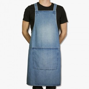 Suspender apron – Classic leather